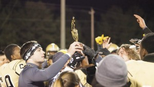 Tony Waits / The Prentiss Headlight – Bassfield Yellowjacket football team clinched the South State Championship Friday night against long-time rival East Marion Eagles.