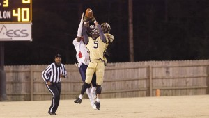 Tony Waits / The Prentiss Headlight – Bassfield Yellowjacket double-team an East Marion Eagle for shock and awe.