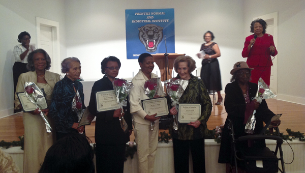 Women lauded for their leadership in Jeff Davis County (l to r) Bettie Drummond, Gwendetta Magee, Queen Sutton, Charlene Fairley, Grace Grubbs and William Mae Laird.