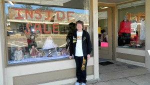 Shirley Burnham / The Prentiss Headlight – Inside Sale Business hours are 8-5 on Thursdays-Saturdays. Owner Terri Speights invites everyone to come by and browse, enjoy the conversation and the low prices.