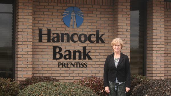 Holley Cochran / The Prentiss Headlight — Caren DavisBranch Manager, Hancock Bank