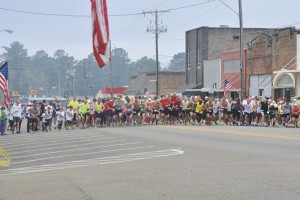 282 5K runners and walkers crossed the finish line Saturday in the 31st Annual Run for the Roses.