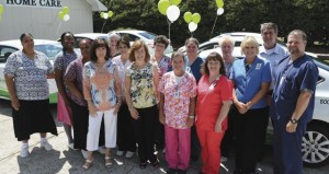 On June 4,  a fleet of new cars were unveiled for the employees at Forrest General Home Health Care at the Prentiss branch office located  on Columbia Avenue.